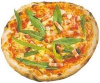 Пицца пармская, с копченой ветчиной
