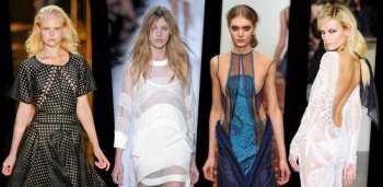 Сетка - модный тренд весны 2012
