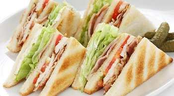 Клубный сэндвич — классика кулинарной архитектуры