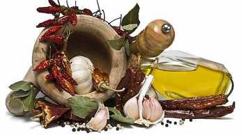 Готовим ароматизированное оливковое масло