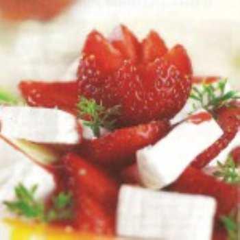Фруктовые десерты с клубникой