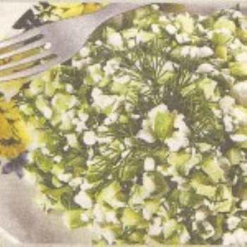 Вкусные салаты к завтраку